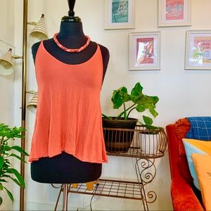 ♻️🌿 Aritzia | Wilfred Free Coral Boat Neck Tank